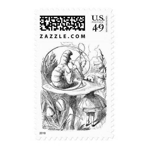 Caterpillar (Alice's Adventures in Wonderland) Stamps