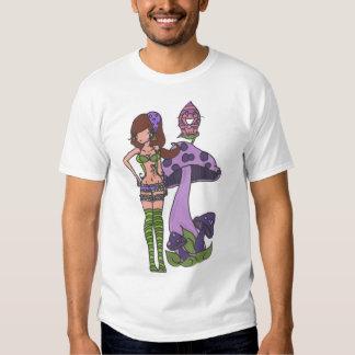 Caterpillar and Cheshire T Shirt