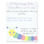 Caterpillar Baby Shower Invitation