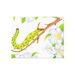 Caterpillar Blossoms Canvas Prints
