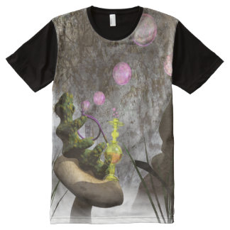 Caterpillar blowing bubbles All-Over-Print T-Shirt