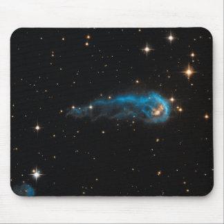 Caterpillar cósmico del cojín de ratón del espacio alfombrilla de raton
