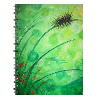 Caterpillar Spiral Notebooks