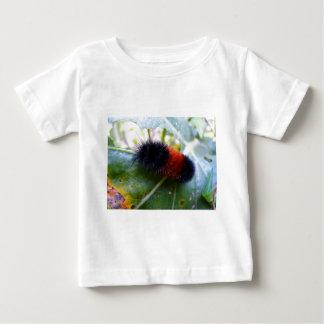 Caterpillar Devours Garden Leaves Baby T-Shirt