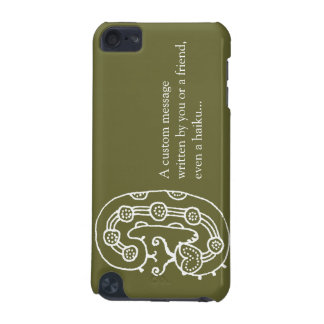 Caterpillar Dreaming (wht/khaki) iPod Touch (5th Generation) Cover