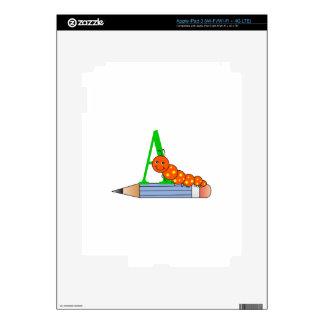 CATERPILLAR EN EL LÁPIZ iPad 3 PEGATINA SKIN
