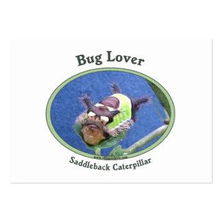 Caterpillar fastidia al amante tarjetas de visita