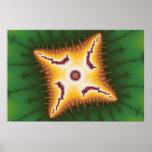 Caterpillar - Fractal Poster