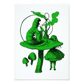 Caterpillar Green Fill Card