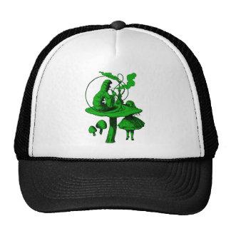 Caterpillar Green Fill Trucker Hat