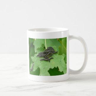 caterpillar huddle coffee mug