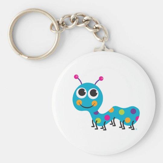 Caterpillar Keychain