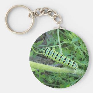 Caterpillar Llavero Redondo Tipo Pin