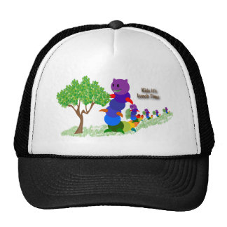 Caterpillar MOM Kids it's Lunch Time T-shirts Appa Trucker Hat