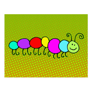 Caterpillar Netty + your ideas Post Card