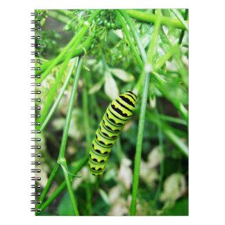 Caterpillar Notebook