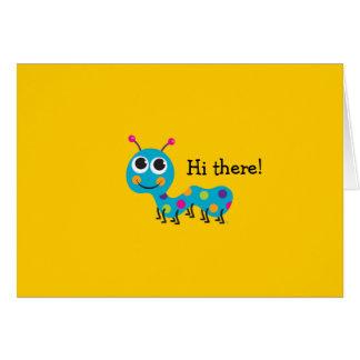 Caterpillar Notecard