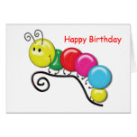 Caterpillar on a Twig Greeting Card