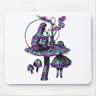 Caterpillar Psychadelic Mouse Pad