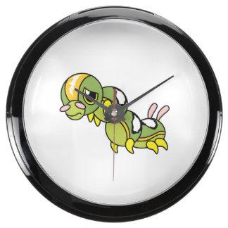 Caterpillar que llora gritador solo triste soporta relojes pecera