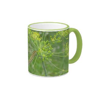 Caterpillar Ringer Mug