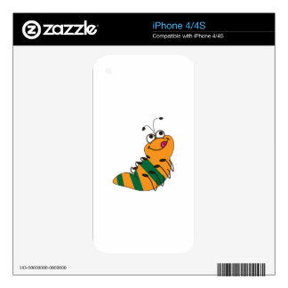 Caterpillar Decals For The iPhone 4
