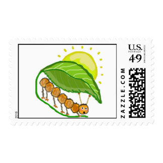 Caterpillar Stamp