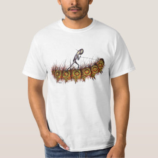 Caterpillar Surfer T-Shirt