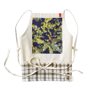 Caterpillars and other worms zazzle HEART apron