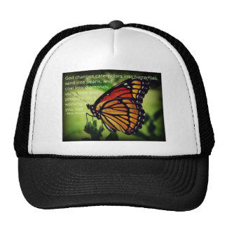 Caterpillars into Butterflies Trucker Hat