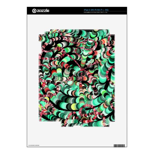 Caterpillars Skin For iPad 2