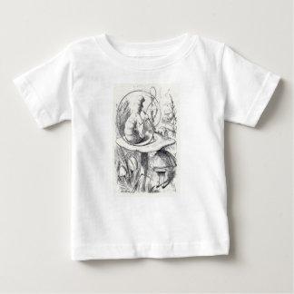 Caterpiller Smokes a Hookah on am ushrooa Baby T-Shirt