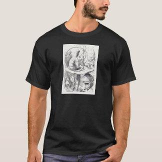 Caterpiller Smokes a Hookah on am ushrooa T-Shirt
