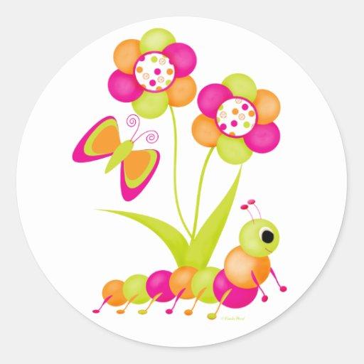 Caterpiller to a Butterfly Sticker