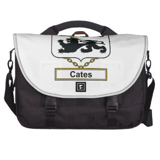 Cates Family Crest Computer Bag