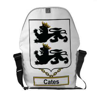 Cates Family Crest Courier Bag
