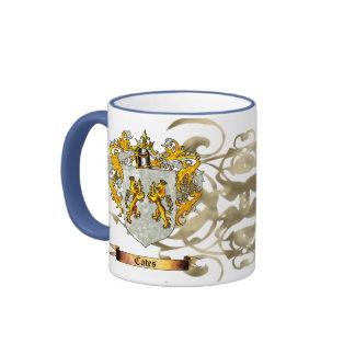 Cates Shield / Coat of Arms Coffee Mug