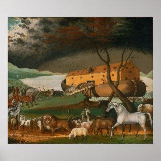 Catetos de Edward - la arca de Noah Poster