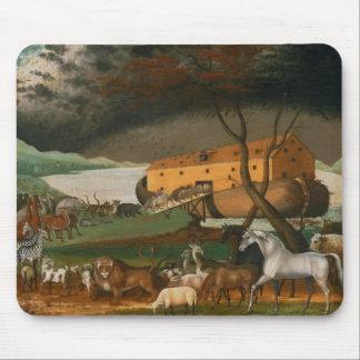 Catetos de Edward - la arca de Noah Alfombrillas De Ratones