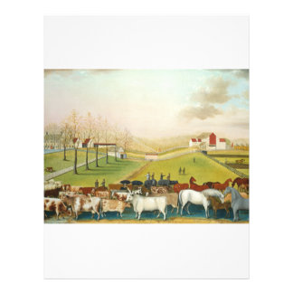 Catetos de Edward - la granja de Cornell Tarjetas Publicitarias