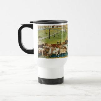 Catetos de Edward - la granja de Cornell Taza De Café