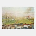 Catetos de Edward - la granja de Cornell Toalla
