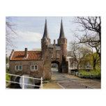 Cateway a Delft Tarjeta Postal