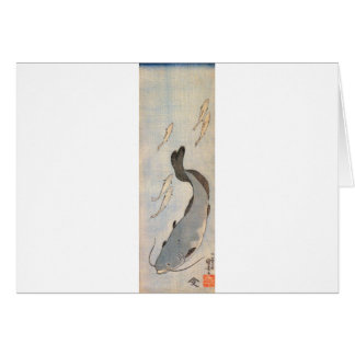 Catfish by Utagawa Kuniyoshi Card