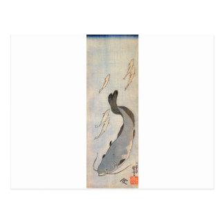 Catfish by Utagawa Kuniyoshi Postcard
