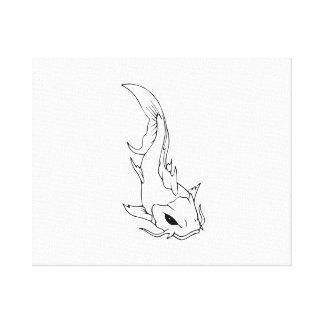 Catfish Canvas Prints