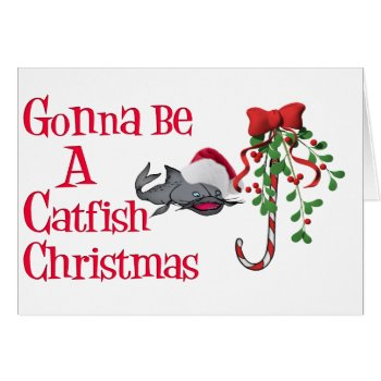 Catfish Christmas Card