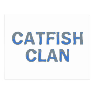 catfish clan post cards