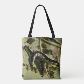 Catfish Crazy Catalpa Worm Camo Tote Bag