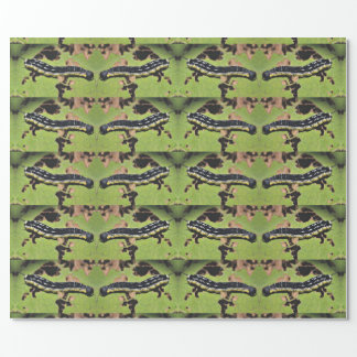 Catfish Crazy Catalpa Worms Camo Wrapping Paper